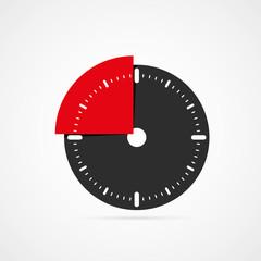 icône chronomètre