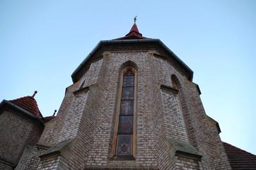 Tower of an gothic church
