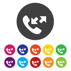 Phone sign icon. Support symbol. Call center