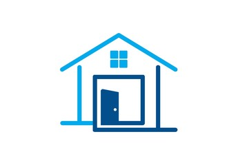 house,logo,real estate,construction,architecture,home,door.zip