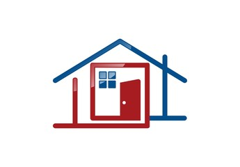 house,real estate,logo,construction,architecture,,door,building