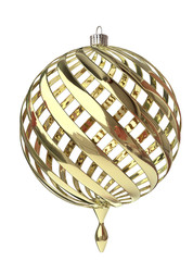 Christmas Tree Ornament in 3D