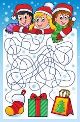 Maze 10 with Christmas theme