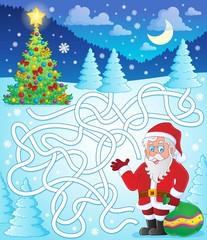 Maze 11 with Santa Claus