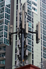 Cellphone Antenna in urban area