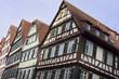 Fachwerkgebäude in Tübingen, Deutschland