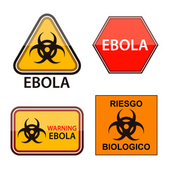 ebola etiquetas