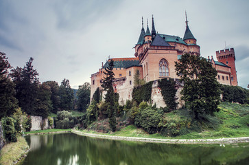 Old castle in Slovakia