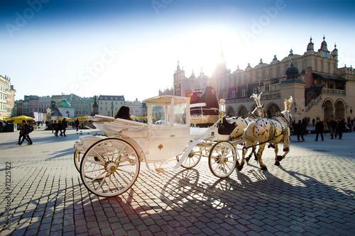 Zdjęcia na płótnie, fototapety, obrazy : Krakow Square
