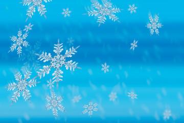 christmas snowflake crystals