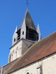 Cher- Mehun-sur-Yèvre - Clocher collégiale Notre-Dame