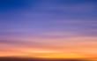 Leinwandbild Motiv Blur of sunset sky illustration