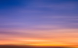 Blur of sunset sky illustration - 71229524
