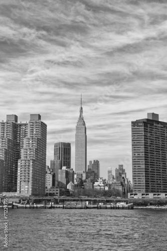 Foto op Aluminium Toronto New York Manhattan view from East River