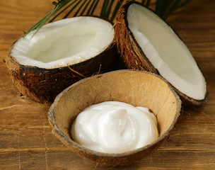 moisturizer natural coconut cream for face and body