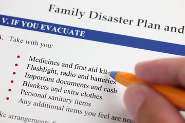 Family Disaster Plan