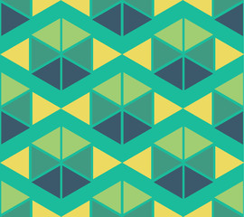 geometric green yellow blue color  pattern background