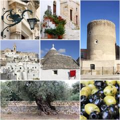 Landmark of Apulia, South Italy