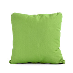 Pillow or cushion in green color