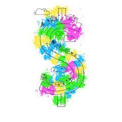Dollar concept