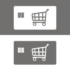 Icono tarjeta de compras
