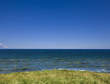 Blick auf Ozean