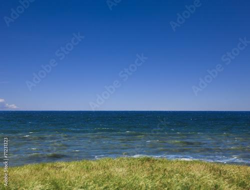canvas print picture Blick auf Ozean
