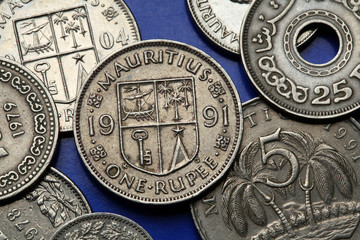 Coins of Mauritius