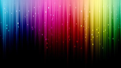 Fond multicolore lignes arc en ciel