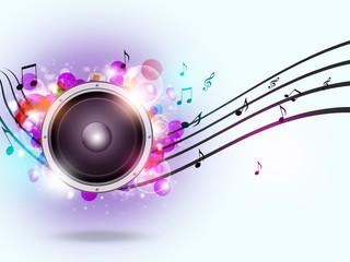 Sound Speaker Music Background
