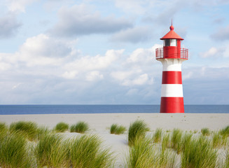 Leuchtturm an der Küste