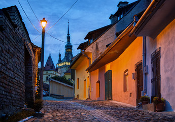 Night image from Sighisoara, Romania.