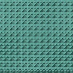Green seamless pattern from different shapes.