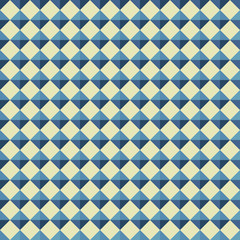 Seamless pattern from different shapes.