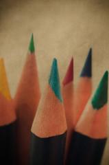 Retro Art Pencils