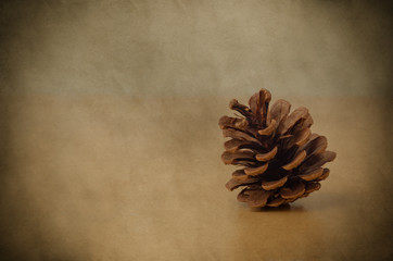 Fir Cone - Vintage Style