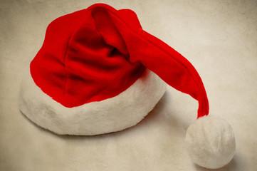 Christmas Santa Hat - Vintage Style