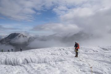 Gletscherseilschaft