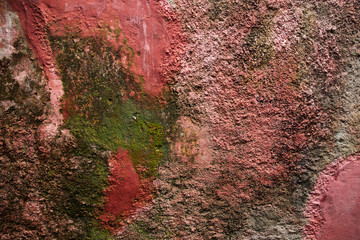Background of old plaster wall