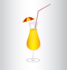 The bright cocktail