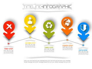 TIMELINE INFOGRAPHIC NEW STYLE  9