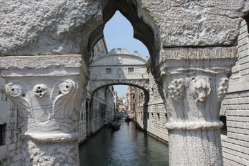 The Bridge of Sighs, Venice, Italy