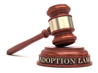 Adoption Law & Gavel