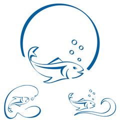 Fisch - Zeichen/Symbole