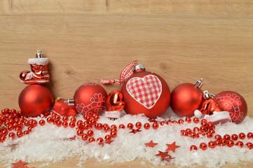 rote weihnachtsdeko