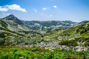 The second Rila lake