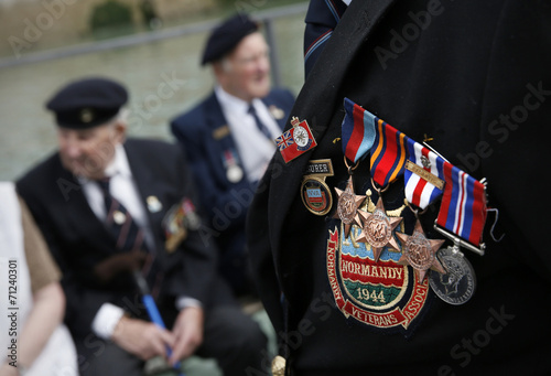 Poster Military Medals