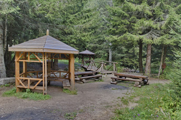 Beauty nook for respite in the Vitosha mountain, Bulgaria