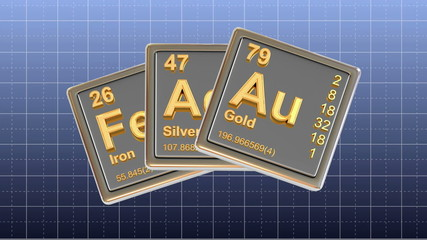 Chemical element. 3d