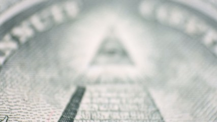 Dollar bill  money - view change to eye point
